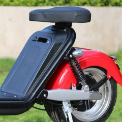 Fast 2000w electric motorcycles e scooter with removable battery 60v citycoco for sale in europe with eec approved