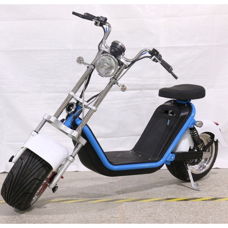 2000w electric motorcycles with removable battery 60v citycoco for sale in europe with eec approved drop shipping service