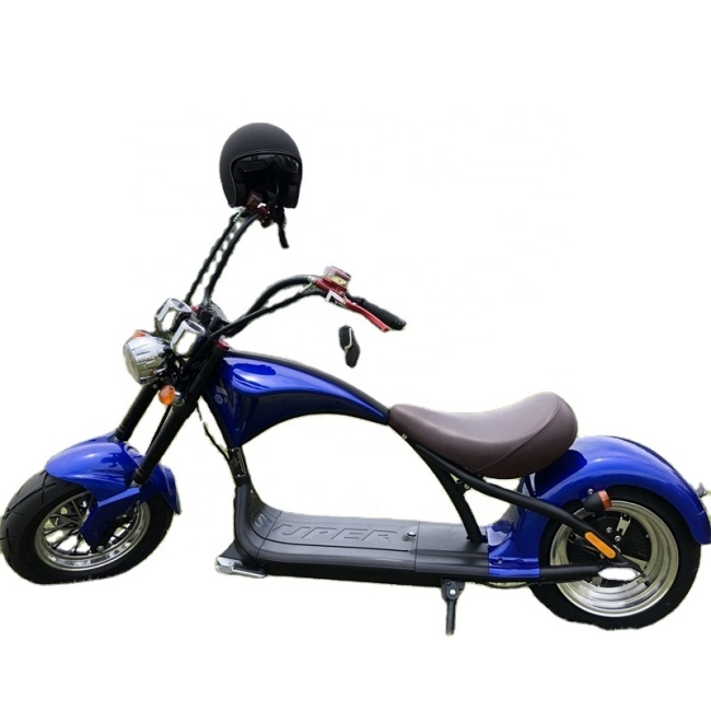 2000W City electric motorcycle Adults Electric scooter with 14 inch front tire and 12 inch rear tire citycoco 60V-20AH