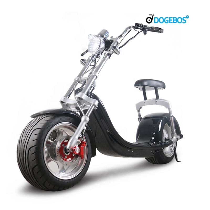 EU warehouse 1200 electric motorcycles with 12 inch fat tires citycoco Power  removable battery 60v