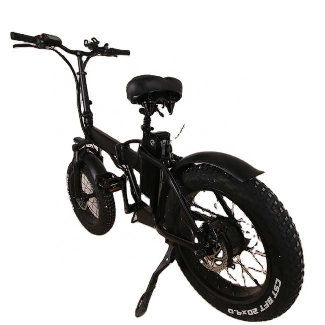 High speed electric bicycle with motor 500W e-bike with 20 inch tires e bike with removable battery 48V-15AH