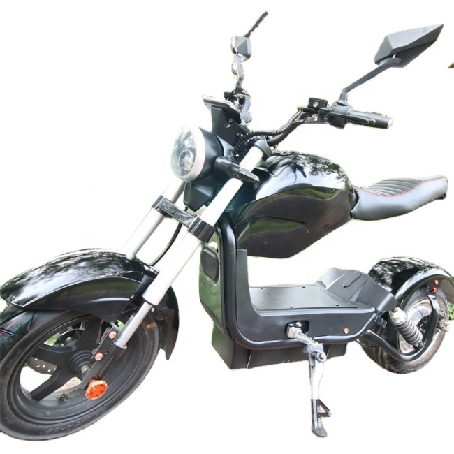 1500W Eec Approved Electric Scooter Motorcycles Adult Citycoco For Sale With Removable Battery 60V20Ah