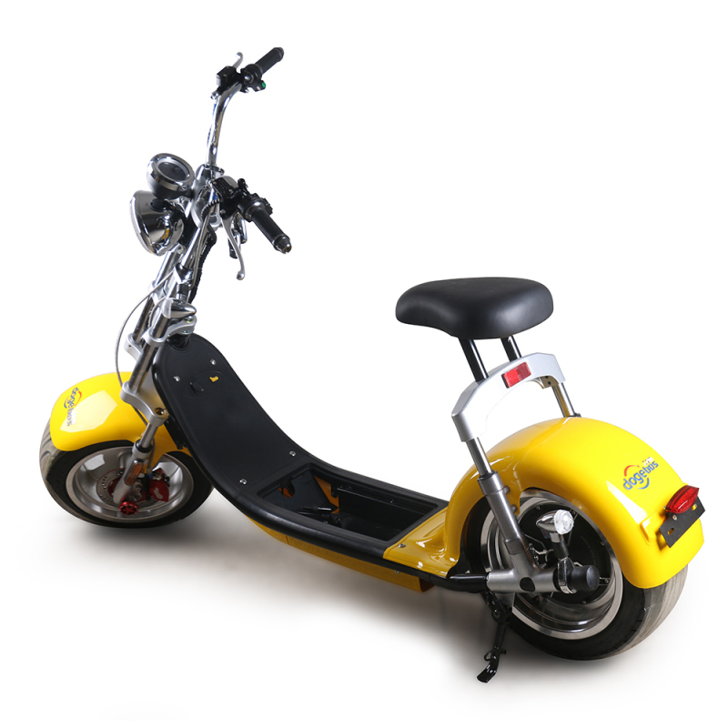 EU warehouse 2000w electric motorcycles with 12 inch fat tires citycoco Power  removable battery 60v