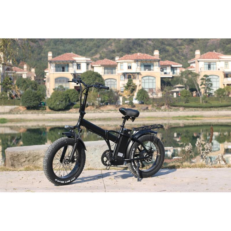 electric bike with CE certificate foldable bikes in European warehouse drop shipping service