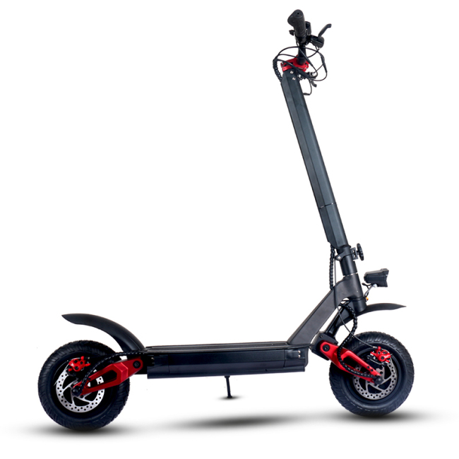 European warehouse double-motor electric kick scooter with 3000w motor 60v-20ah battery