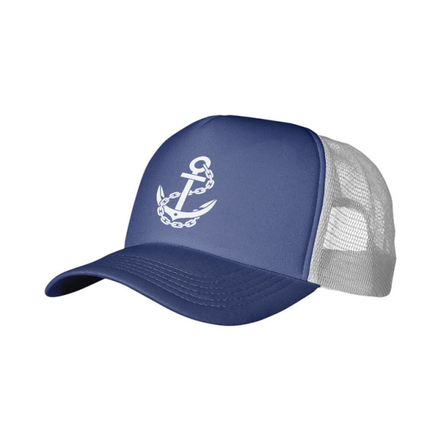 5-Panel Foam Trucker Cap-Screen printing