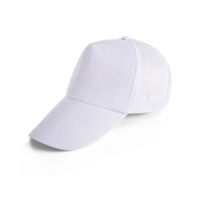 100%Polyester Five-Panel Blank Caps