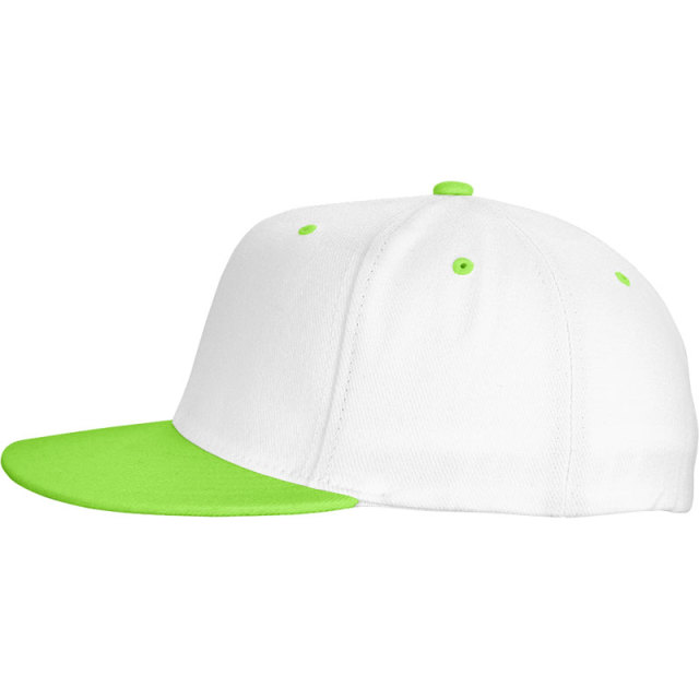 Cotton twill 6-panel Colorful Baseball Cap-Embroidery