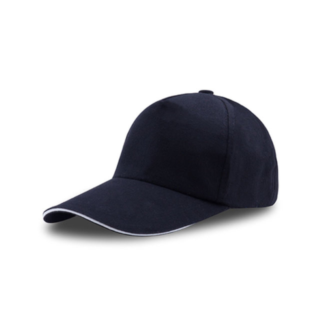 80% Cotton and 20%Polyester Five-Panel Blank Hats