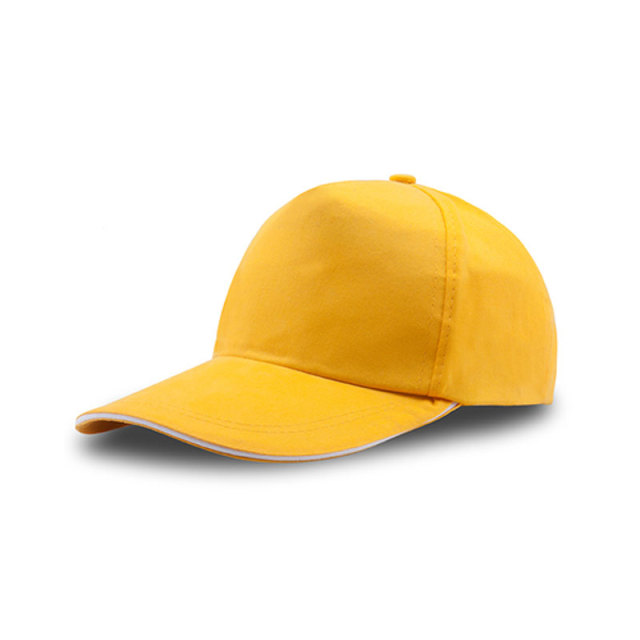 80% Cotton and 20%Polyester Five-Panel Blank Hats-Small Quantity