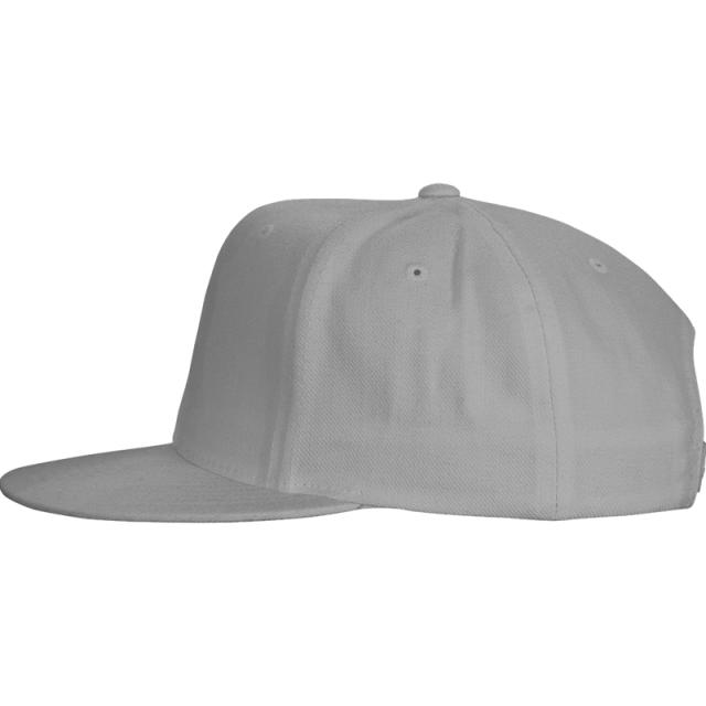 Cotton Snap Back Flat Bill Cap-Full Color Screen Print