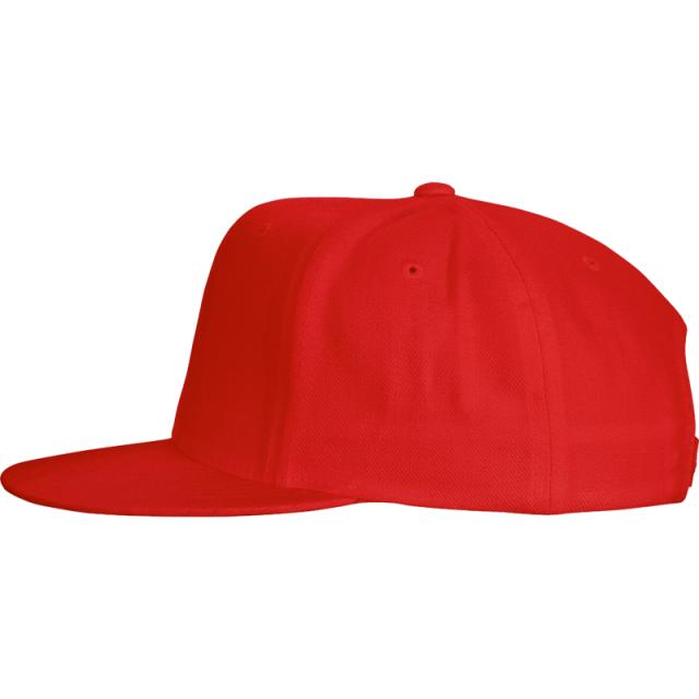 Cotton Snap Back Flat Bill Custom Hats-Embroidery