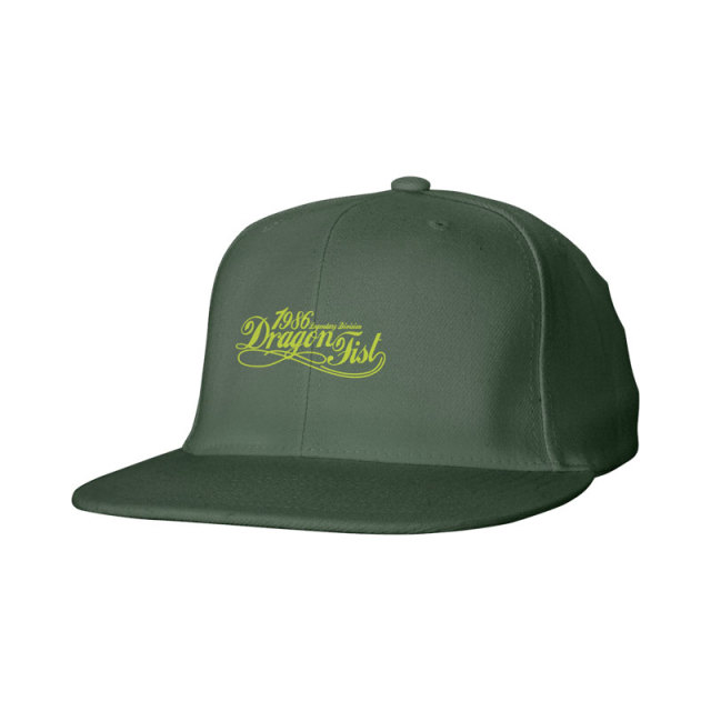 Snap Back Flat Bill Cap-Cotton twill-Screen print