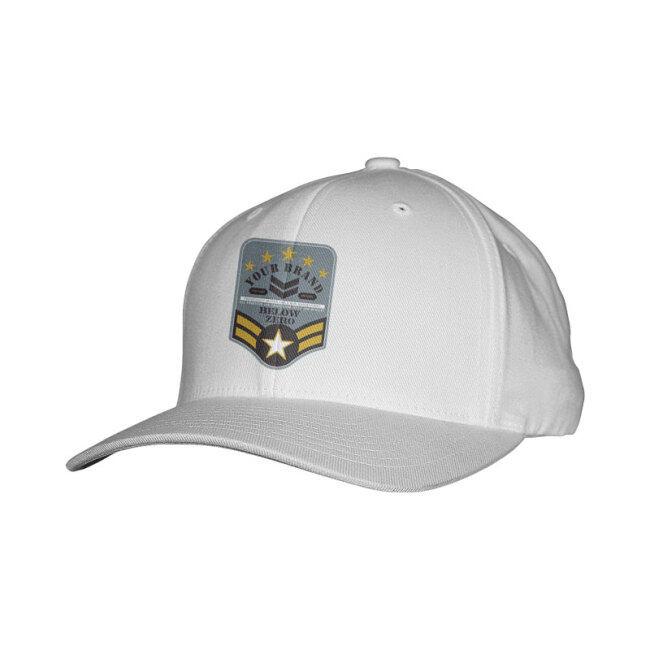 Cotton Full Color Printing Custom Cap
