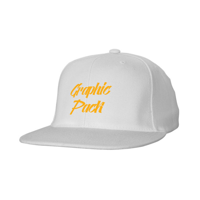 Cotton twill Snap Back Flat Bill Cap-Printing