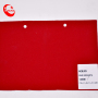 1.0mm Red Plain Nobuck PU leather fabric Synthetic leather in Stock