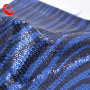 Hot Selling Textile Wave Sparkling Competitive Price Reversible Sequin Fabric Online  For Shoe Bags Dress Garment Wedding