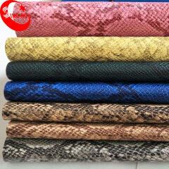 Искусственная кожа для сумок Имитация змеиной кожи для сумки