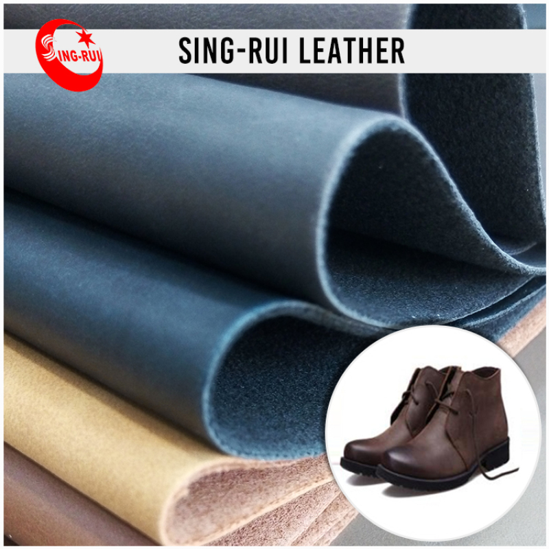 New Shop Crazy Horse artificial leather for shoesPU Synthetic Leather artificial leather for shoes For Men Shoes