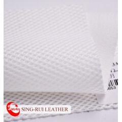 Красочная дышащая ткань из полиэстера 3D сетка для бега спортивной обуви
