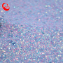 Hot Sale Europe South America Multicolor Shiny Fabric Iridescent Glitter Faux Leather Sheets Water Resistant For Sandals In 2021