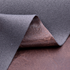 Искусственная кожа из искусственной коровы из искусственной кожи с низким MOQ для обуви