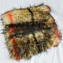 Wholesale 100% polyester Plush Rabbit faux fur Fabric Home textile