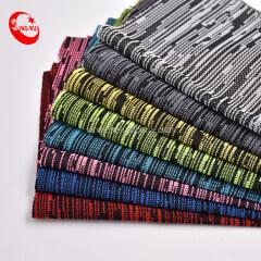 ткань сетки красочная полосатая эластичная ткань сетки для спортивной обуви