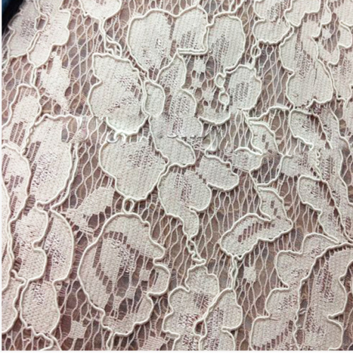 Soft Beautiful 3D Dress Silk Italian Tulle Lace Fabric