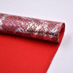 Поставщик ткани водостойкий хлопок змеиная кожа тиснение узор диван ткань вязаная для сумки украшения обуви