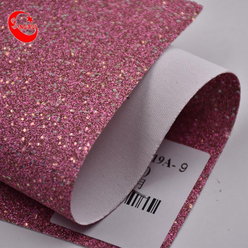 Shoe Material Fabric Wholesale Glitter Fabric