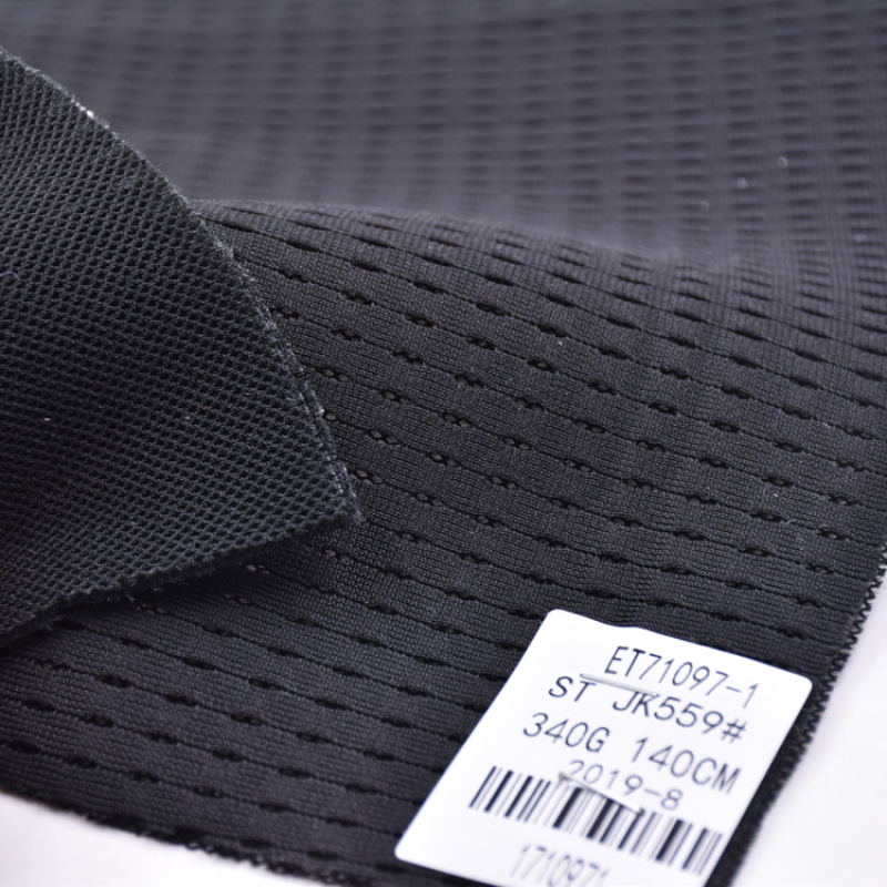 New Arrival Sport Dry Fit Grid Check Knitted Netting 3D Spacer Air Mesh Fabric 100% Polyester For Sport Shoes