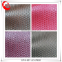 Fashion Style Weave Pattern Synthetic PU Leather Shoes For Men
