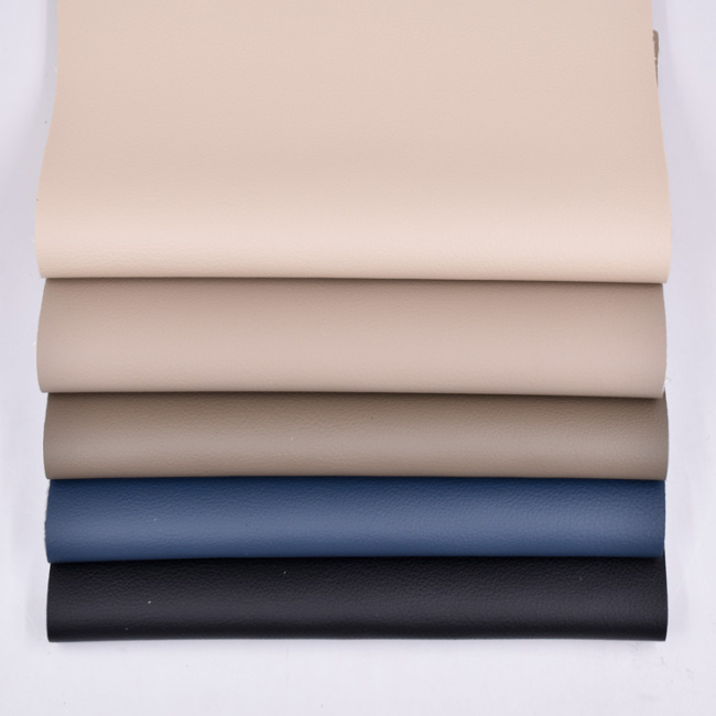 Top Quality Non Solvent No Dmf Durable Waterproof Eco-Friendly Pu Leather For Making Shoes Bags Furniture