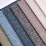 Wholesale New Textile Sofa Linen Fabric Imitated Linen 100% Polyester Linen Look Fabric For Sofa Fabric