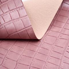 Классический каменный тисненый узор из кожи из ПВХ в рулонном материале для сумки