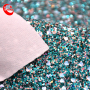 fashion and party style  colorful grit glitter fabric for shoes