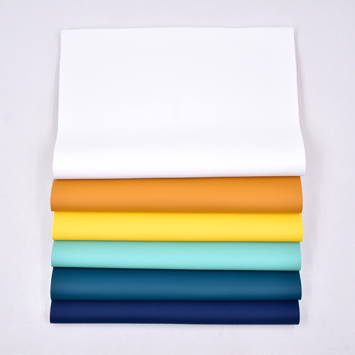High Quality eco-friendly synthetic leather excellent moisture permeabilit touch silicone leather Suitable for babies