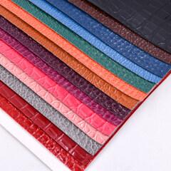 Новая синтетическая кожа из ПВХ для фабрики сумок в Вэньчжоу