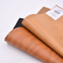 PVC Faux Leather Brown Embossed Two-Tones Synthetic Leather for Shoes