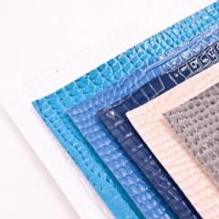 Экзотический крокодиловый дизайн из лакированной синтетической кожи из ПВХ для изготовления сумки