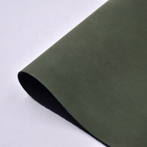 Low MOQ PU Synthetic Leather Yangba Material for Shoes