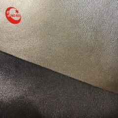 Гладкая ткань из искусственной кожи наппа из гладкой кожи для обуви