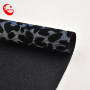 nice quality Gradual metallic sensation leopard print fabric for shoes