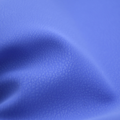 Готовая экологически чистая силиконовая кожа с резиновым покрытием из искусственной кожи для дивана / сиденья