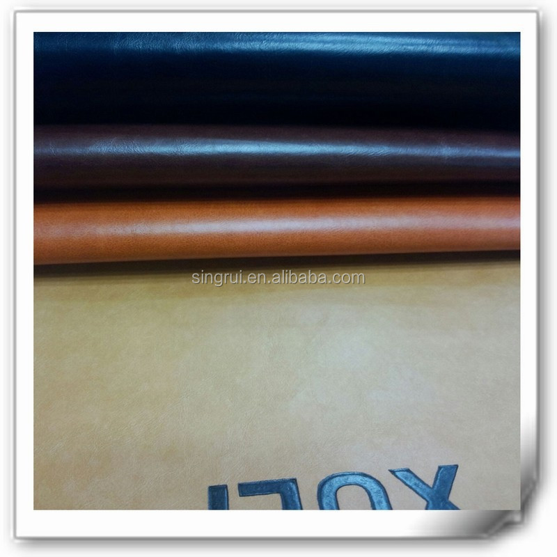 Thermo-sensitive printed synthetic pu leather color change for cover book, phone case