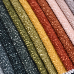 Cheap Comfortable Popular Upholstery Fabric Wholesale Designer Chenille Fabric 100% Polyester For Sofa Fabric