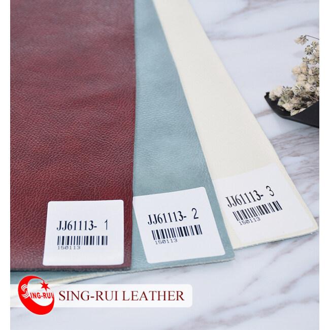 Litchi Pattern Microfiber Pu Sofa Face Leather
