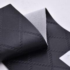 Имитация вышивки искусственной кожи ПВК выстегивая алмазный шить для софы