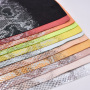 Fabric Supplier Waterproof Cotton Snake Skin Embossing Printing Pattern Sofa Fabric Knitted For Bag Shoe Decoration